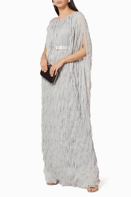 hover state of Wrinkled Maxi Dress