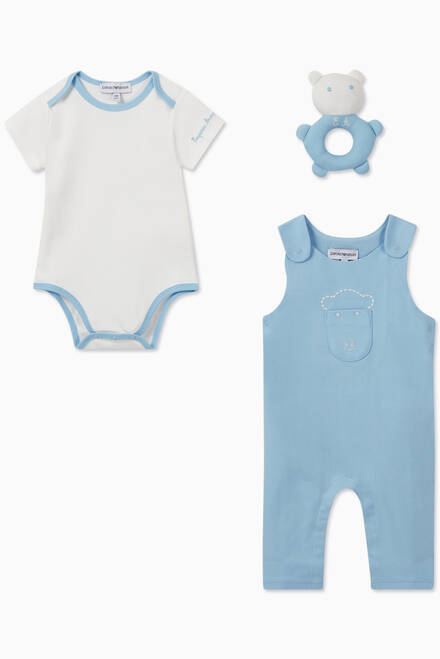hover state of EA Manga Bear Jumpsuit, Bodysuit & Toy Set