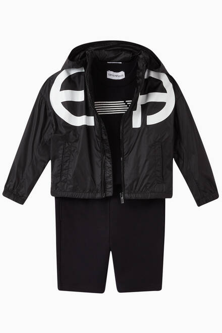 hover state of EA Reacreate Nylon Windbreaker