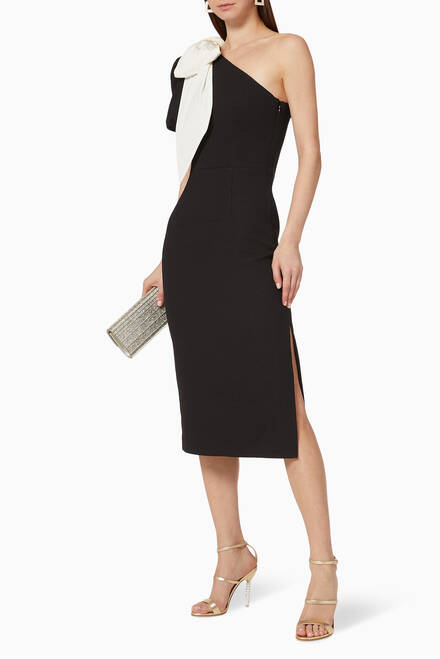 hover state of Bow Midi Dress