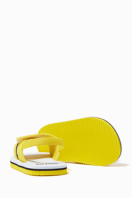 hover state of Logo Strap Sandals in Neoprene