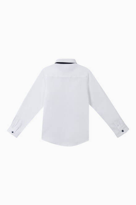 hover state of Contrast Trim Shirt