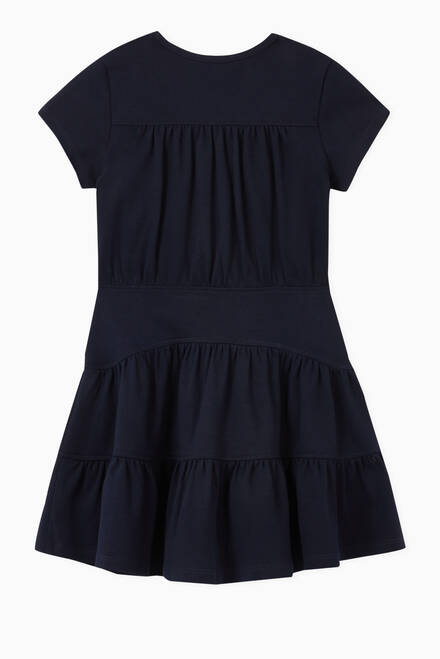 hover state of Tiered Cotton Dress