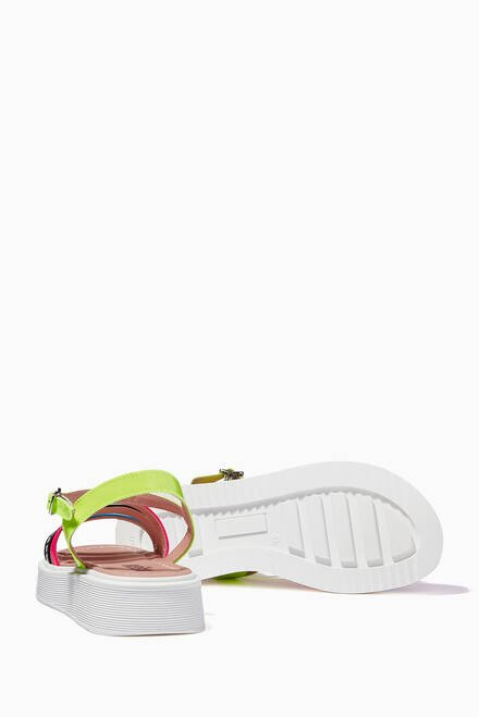 hover state of Multicolour Strappy Sandals