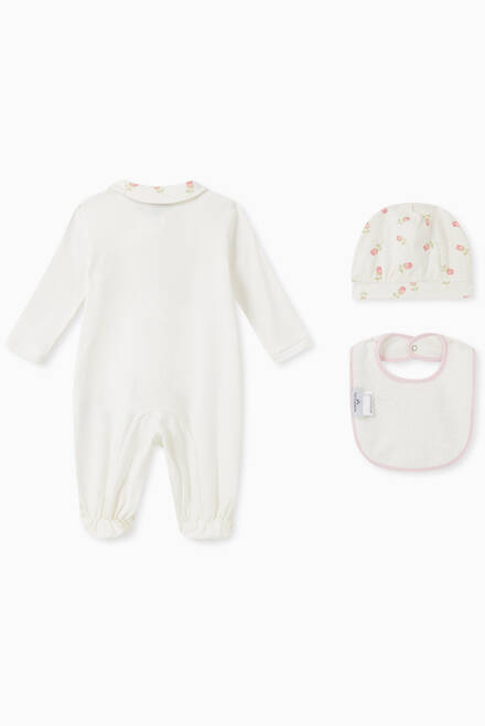 hover state of Newborn Girl Cotton Set, Set of 3