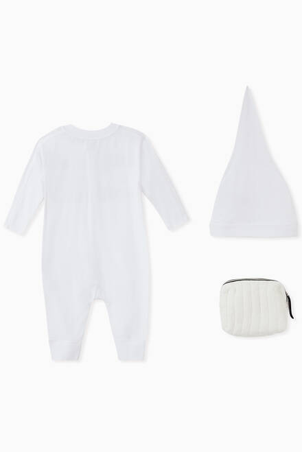 hover state of Logo Organic Cotton Jersey Baby Gift Set