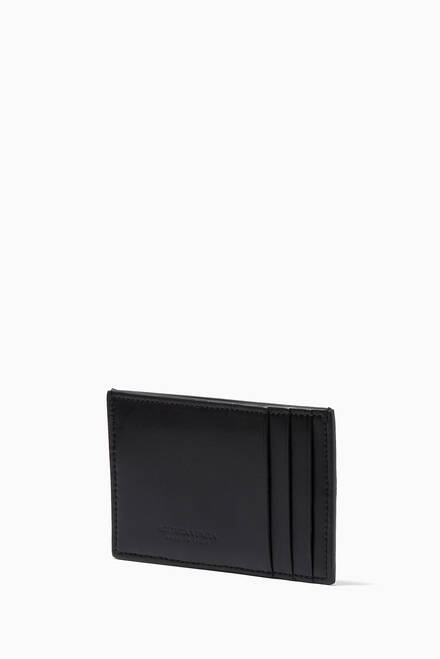 hover state of Card Case in Intrecciato Urban Leather