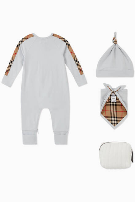 hover state of Vintage Check Cotton Baby Gift Set