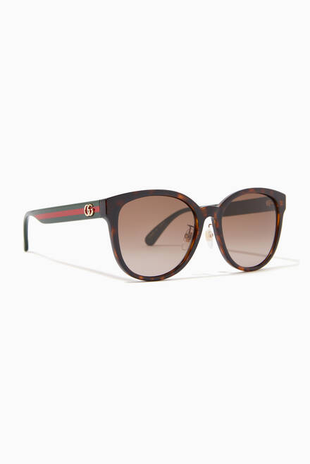 hover state of Cat-eye Sunglasses in Acetate