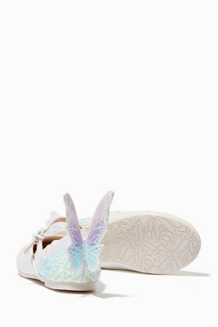 hover state of Talulah Mini Ballerinas in Leather