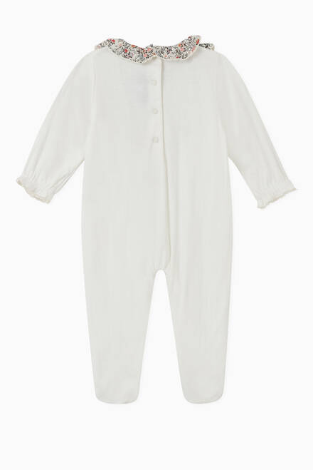 hover state of Ruffled Trim Sleepsuit