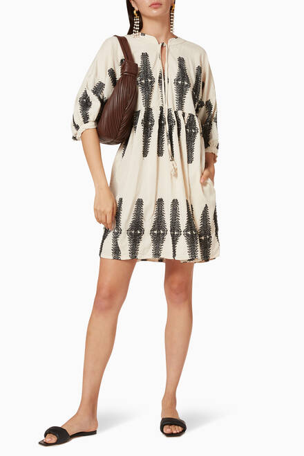 hover state of Zakar Cotton Dress