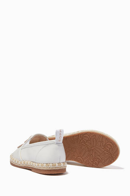 hover state of Butterfly Espadrilles in Leather