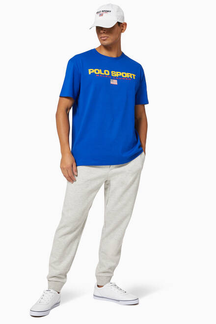 hover state of Classic Fit Cotton Polo Sport T-shirt