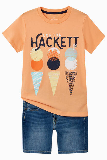 hover state of Hackett Ice Cream T-Shirt