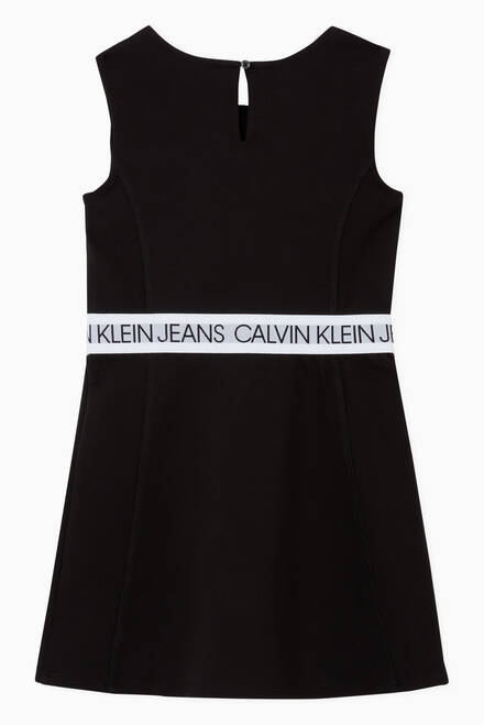 hover state of Milano Skater Dress in Jersey