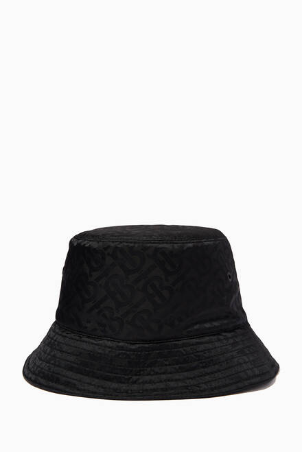 hover state of Bucket Hat in Monogram Jacquard