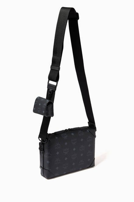 hover state of Small Soft Berlin Multifunction Crossbody in Visetos