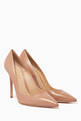 thumbnail of Gianvito 105 Nappa Leather Pumps   #4