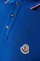 thumbnail of Navy Cotton Pique Polo Shirt    #3