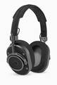 thumbnail of Black Alacantra & Gunmetal MH40 Over-Ear Headphones #0
