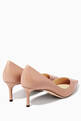 thumbnail of Pastel Pink Romy Pumps #2