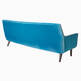thumbnail of Mrs Godfrey Blue Velvet Sofa #2