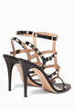 thumbnail of Nero Rockstud Leather Sandals #2