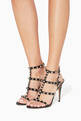 thumbnail of Nero Rockstud Leather Sandals #1