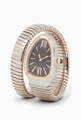 thumbnail of Rose-Gold, Stainless Steel & Diamond Serpenti Tubogas Watch #0