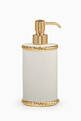 thumbnail of White & Gold Rope Lotion Dispenser #0