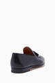 thumbnail of Black Classic Tassel Loafers #2
