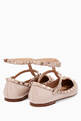 thumbnail of Poudre Double-Strap Rockstud Patent Ballerinas #2