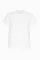thumbnail of White Sacai Lace Back T-Shirt #5