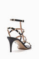 thumbnail of Valentino Garavani Rockstud Leather Sandals     #2