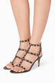 thumbnail of Valentino Garavani Rockstud Leather Sandals     #1