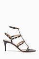 thumbnail of Valentino Garavani Rockstud Leather Sandals     #0