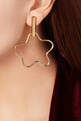 thumbnail of Gold-Plated Silver Squiggle Earrings #1