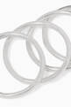 thumbnail of Silver Stacking Rings - Set of 4 #3