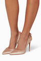 thumbnail of Powder Pink Satin Forever Marilyn Pumps #1