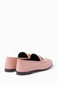 thumbnail of Light-Pink Brixton Leather Loafers #2