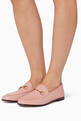 thumbnail of Light-Pink Brixton Leather Loafers #1