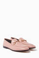 thumbnail of Light-Pink Brixton Leather Loafers #0