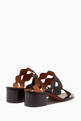 thumbnail of Black Scallop Lauren Palmer Mules #2