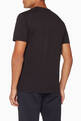 thumbnail of Black Cotton Essential T-Shirt   #2