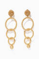 thumbnail of Gold Triple Hoop Earrings      #0