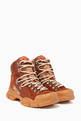 thumbnail of Brown Flashtrek GG High-Top Sneakers   #0