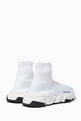 thumbnail of White Speed High-Top Sneakers     #2