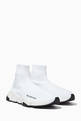 thumbnail of White Speed High-Top Sneakers     #0