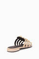 thumbnail of Beige Arena Giant Flat Sandals #2